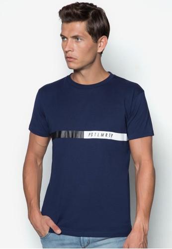 拼接條紋TEE, 服飾, 印圖esprit 品牌T恤