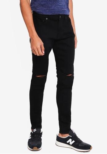 Hollister black Super Skinny Destroyed Jeans BBDCFAACA058EEGS_1