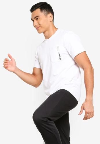 361° white Sports Life Short Sleeve T-Shirt 2CC29AA8F4C4DFGS_1