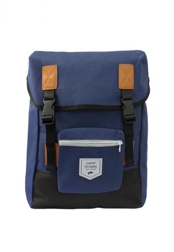 GreyPlus blue Gavin Backpack GR720AC0FJUASG_1