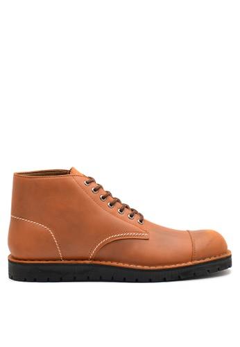 Brodo brown BRODO - Sepatu Pria Alpha Vintage Brown BS 7CCDESH97E2A8FGS_1