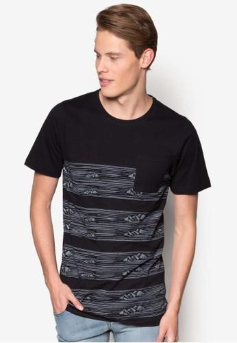 景觀印花口袋TEE, 服esprit台灣outlet飾, T恤