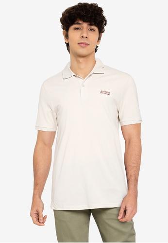 Jack & Jones beige Alpha Short Sleeves Polo Shirt 2BC95AAE1EA41CGS_1