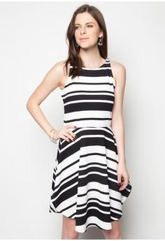 Beth Stripe Dress