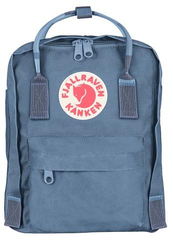 Fjallraven Kanken blue Blue Ridge-Random Blocked Kanken Mini Backpack 6A006AC1999DEBGS_1