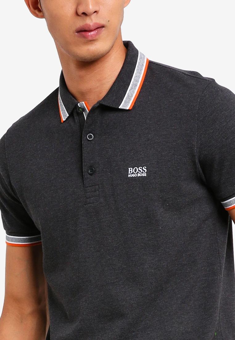 Charcoal BOSS Athleisure Boss Polo Paddy Shirt qTX8Ovw