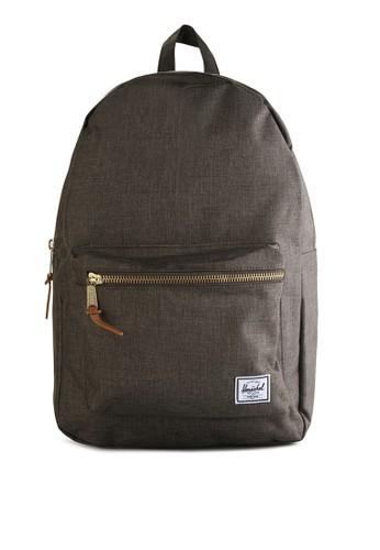 Herschel brown Settlement Backpack HE449AC26LSRID_1