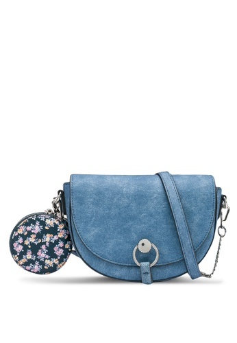 nose blue Two Tone Crossbody Bag 8A4C6AC0643A88GS_1