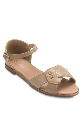 露趾包跟平底涼esprit tw鞋, 女鞋, 涼鞋