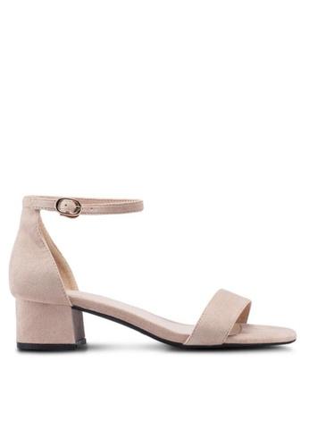 Twenty Eight Shoes 小踭橫帶涼鞋320-5 B174ESH392904DGS_1