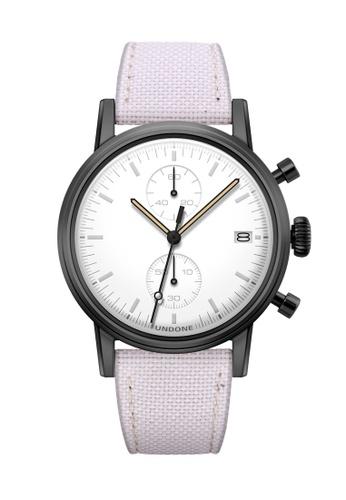 Undone black and white and multi Undone Modern White Watch  UN712AC2VEJAHK_1