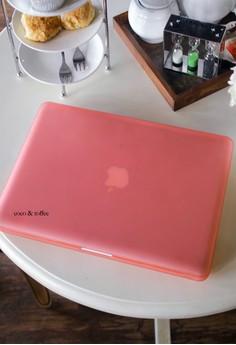 MacBook case bundle for Pro 15 – Piggy Pink