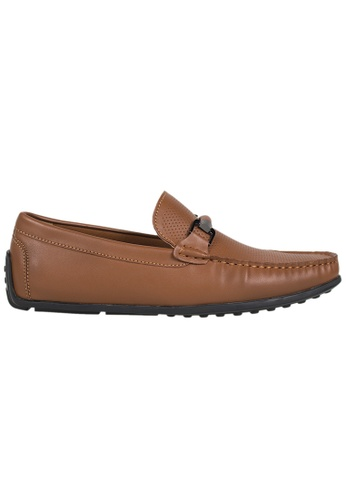 Tomaz brown Tomaz C142 Buckled Loafers (Brown) 6D1E0SH19D0876GS_1