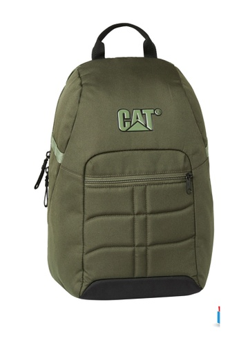 Caterpillar green CAT Ultimate Protect James Protect All-Day Laptop Backpack C2E15AC7E41262GS_1