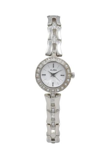 Alba silver ALBA Jam Tangan Wanita - Silver White - Stainless Steel - AC3T63 573ABACC96236EGS_1