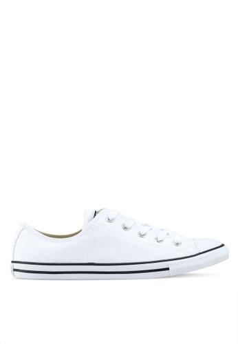 Converse white Chuck Taylor All Star Dainty Sneakers E4E16SH0531BDFGS_1