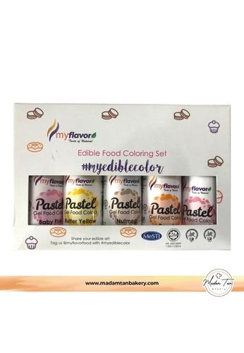 Buy Madam Tan My Flavour Pastel Colour Set Sunny Dream Online Zalora Malaysia