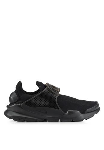 Nike black Nike Sock Dart Men's Shoes NI126SH0SFC0MY_1