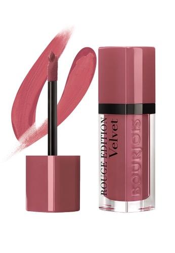Bourjois Rouge Edition Velvet Lipstick #07 Nude-ist BO885BE68MXVSG_1