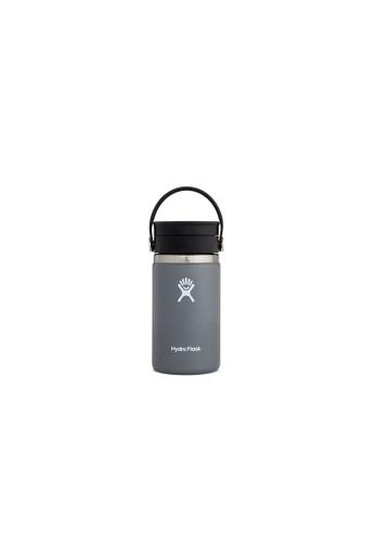 Hydro Flask grey Hydro Flask 12 oz Wide Mouth w/ Flex Sip Lid - Stone (354ml) B5059ACD4C3BC2GS_1