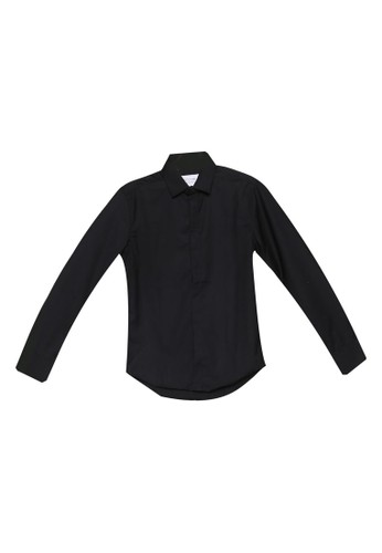 High Cultured black Long Sleeve Shirt - 66 18B27AA8CE8212GS_1