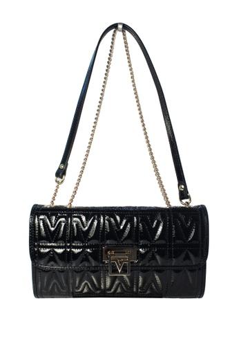 Valentino Rudy black Valentino Rudy Patent Leather Shoulder Bag 9AF15AC2EAB3ECGS_1