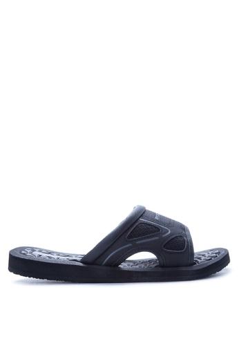 Skechers black Benny Treggs Sandals & Flip Flops SK173SH12JAHPH_1