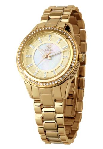 CLETA gold Diletto Watch CL733AC70FUJPH_1