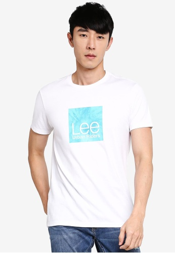 Lee white Regular Short Sleeve T-shirt 2C256AA30EB973GS_1