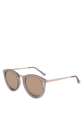 Le Specs grey No Smirking 1702031 Sunglasses D0C72GL95A33A3GS_1