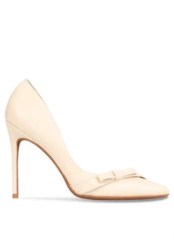 Twenty Eight Shoes 8CM Bow Tie Faux Leather High Heel Shoes DJX06-y 0E059SHD6E0117GS_1
