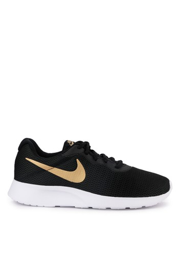 Nike black and multi Nike Tanjun Shoes 14752SH1C10806GS_1