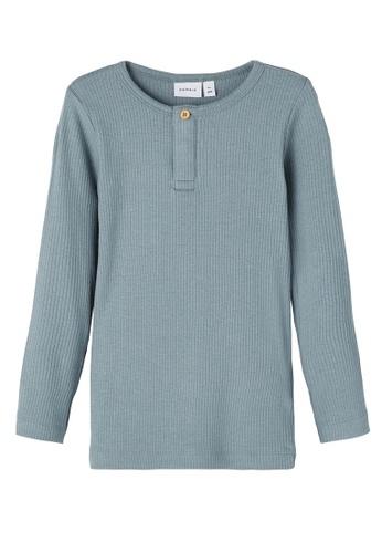 NAME IT blue Kabille Long Sleeves Slim Top 9BC01KAFC68B29GS_1