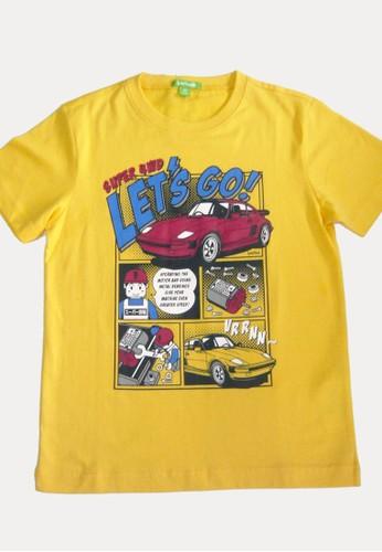 Bossini yellow Bossini Kids Boy T-Shirt Fsh Mango (73080912011) 1A5B0KA26B5B9AGS_1