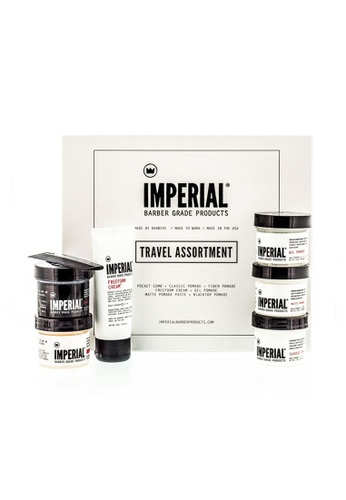Imperial Barber Imperial Barber Travel Assortment Set - Holiday Sets IM040BE0GZ2WSG_1