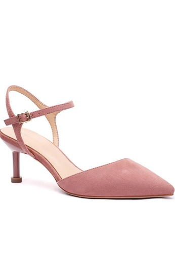 Twenty Eight Shoes Slingback Heel 196-30 84585SH122C210GS_1