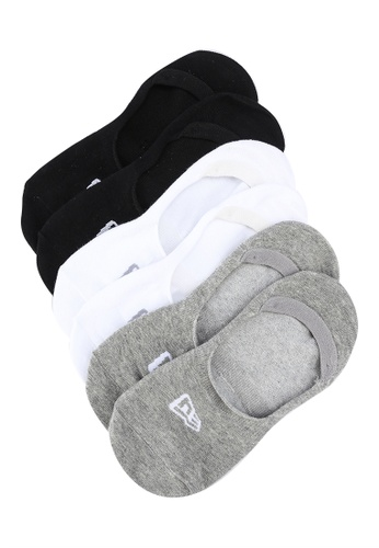NEW ERA black 3 Packs Invisible Socks E4C56AA8F3B366GS_1