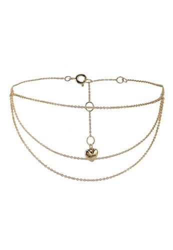 ALDO gold Tatsumi Ankle Bracelet B289AAC41B62AFGS_1