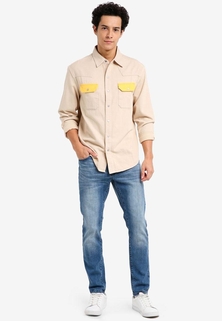 Archive Klein Khaki Calvin Spectre Klein Yellow Jeans Calvin Shirt Western 0S0YZ