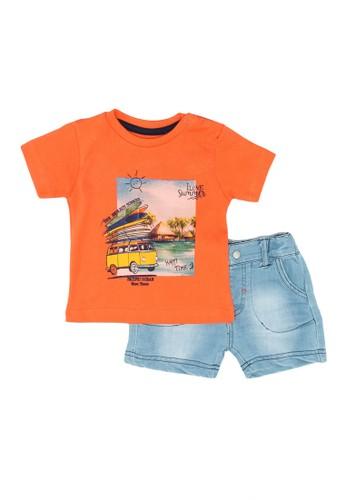 Babybol orange Baby's 2 Piece Set E10C9KA80D894DGS_1