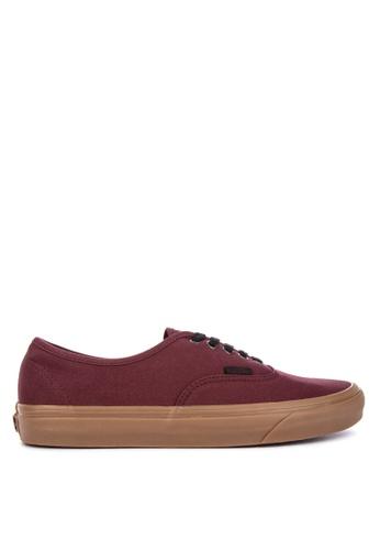 VANS brown Gum Outsole Authentic Sneakers CE2A6SHD841E11GS_1