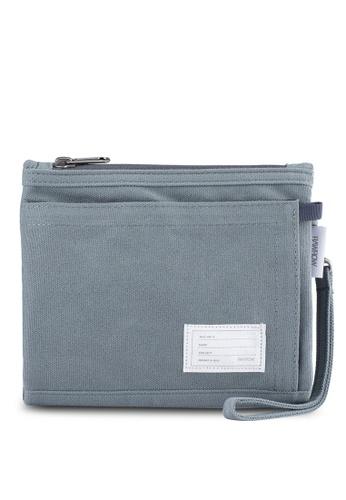 Rawrow grey Wax Cotna 300 Module Bag RA312AC0SIYXMY_1