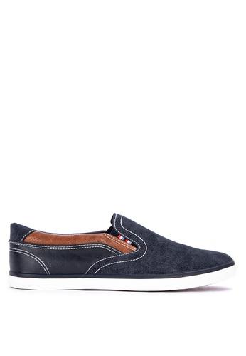 H2Ocean navy Catullus Slip on Sneakers 5FFE9SH7E5C23EGS_1