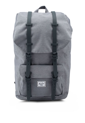 Herschel grey Little America Backpack 3F7D0ACF2A249FGS_1