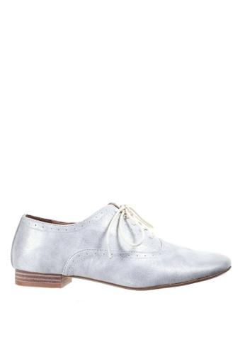 PRODUIT PARFAIT silver Oxford Shoes B05A6SH4CC20D2GS_1