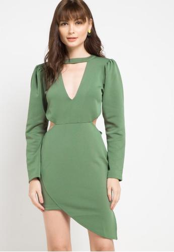 CHANIRA LA PAREZZA green Chanira Teresa Dress 26A05AAC014F03GS_1