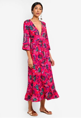 Buy Topshop Culture Print Smock Dress Online On Zalora Singapore
