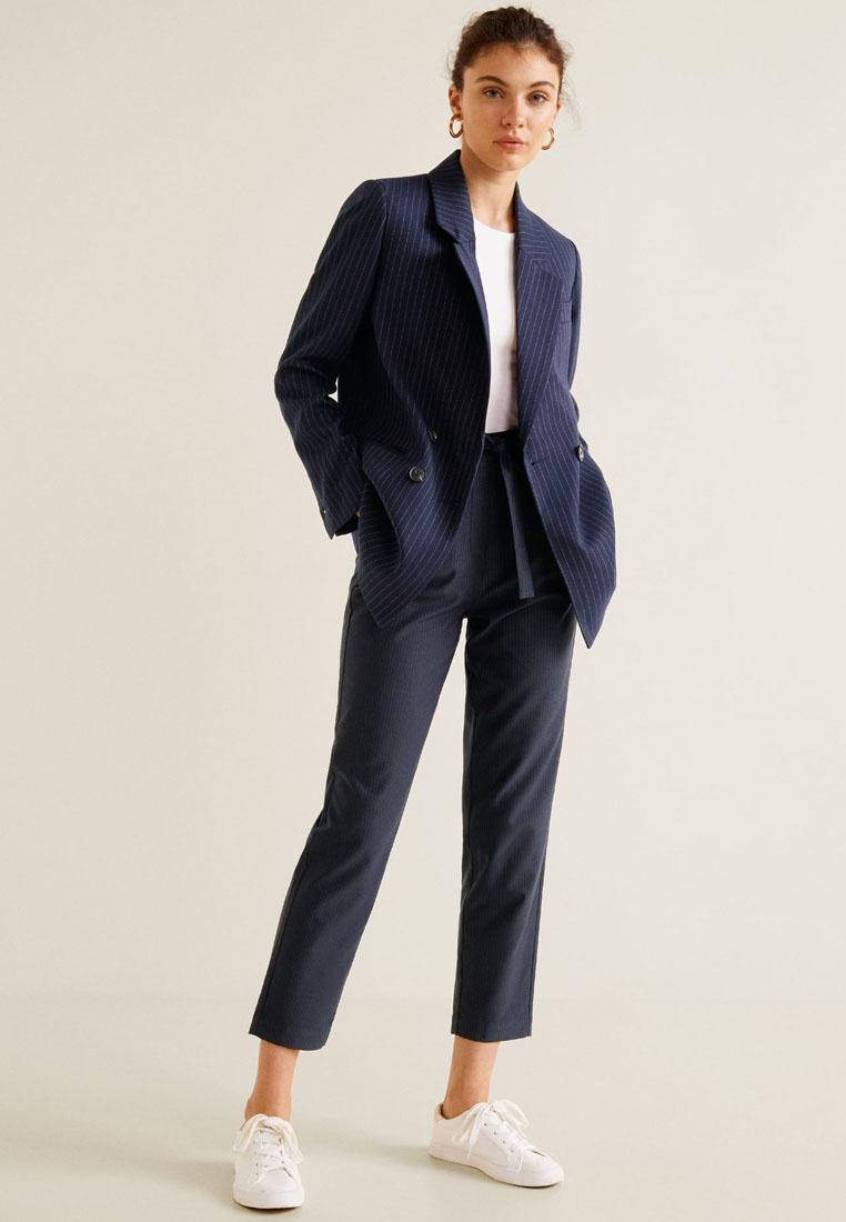 Trousers Mango Cotton Cotton Suit Navy Trousers Cotton Navy Mango Mango Suit Suit S7qA7vC