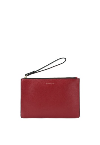 RABEANCO red RABEANCO Wristlet Clutch - Red 77302ACE8A4FC3GS_1