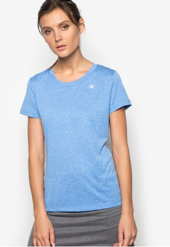 Champion blue Vapor Heather Tee CH632AA60RDFPH_1